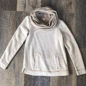 Jcrew cowl neck sweater. Size XS  super warm!